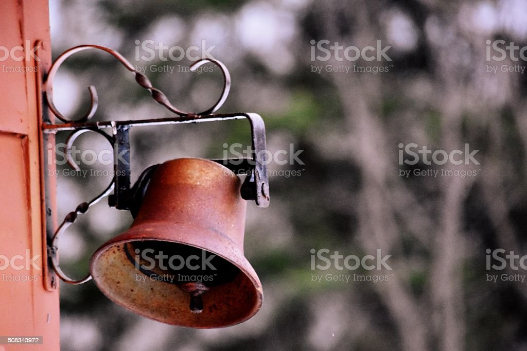 Rusted Antique Bell royalty-free stock photo