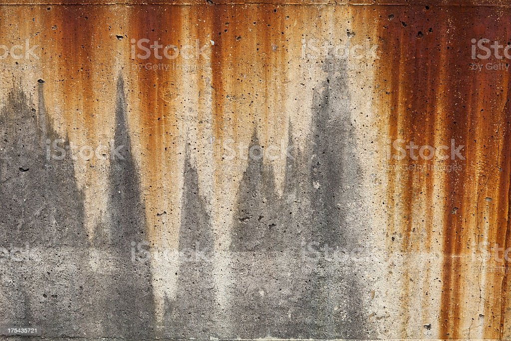 Rusted background royalty-free stock photo