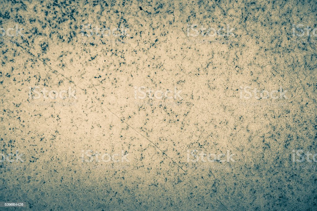 Rusted biege metal surface with vignette stock photo