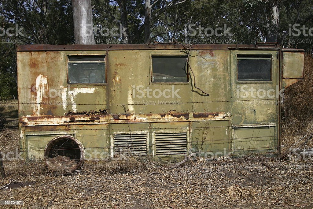 Rusted Carriage royalty-free stock photo