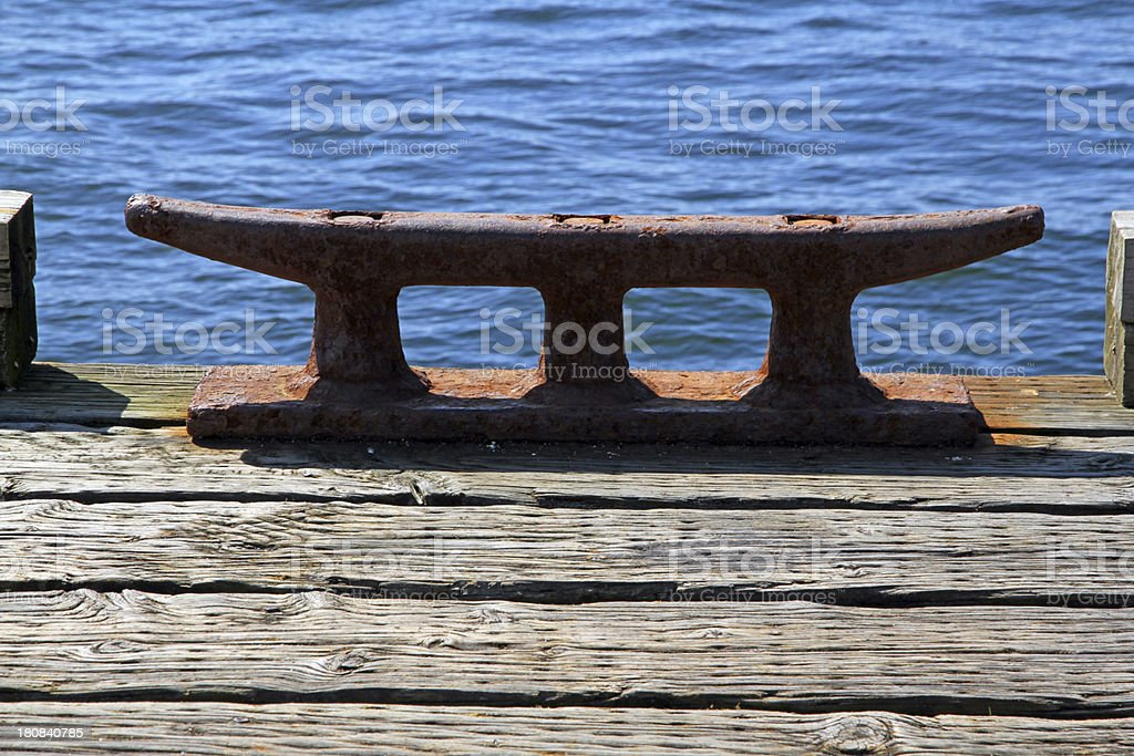 Rusted Dock royalty-free stock photo