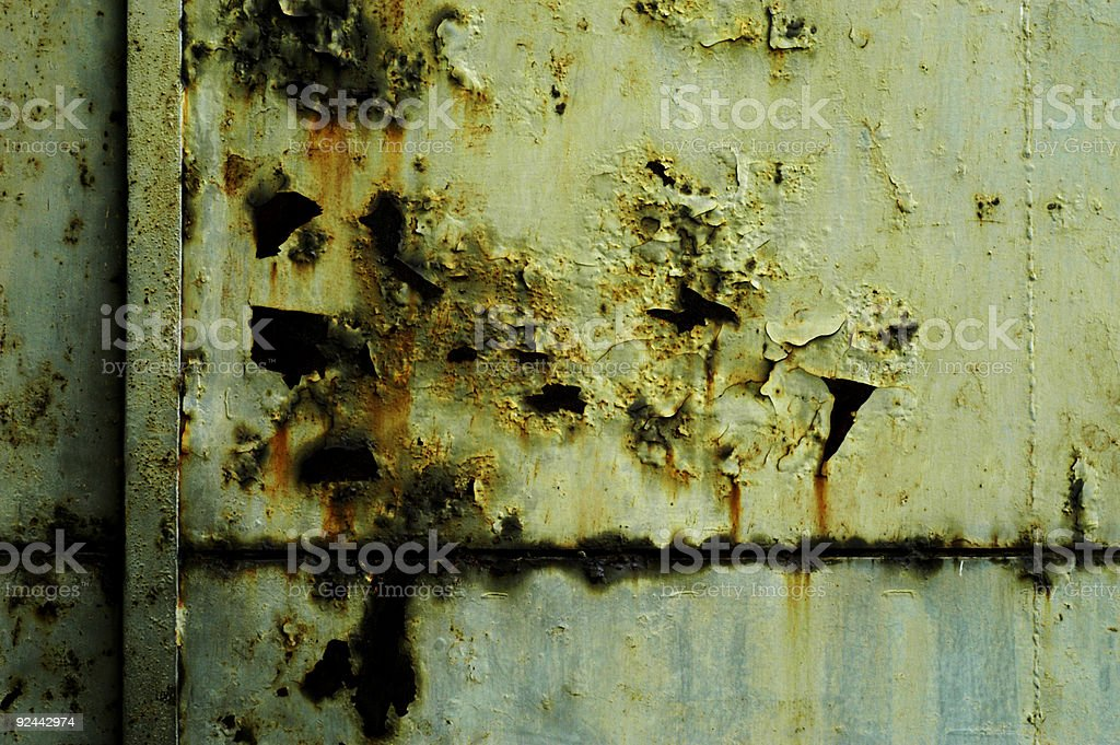 rusted door royalty-free stock photo