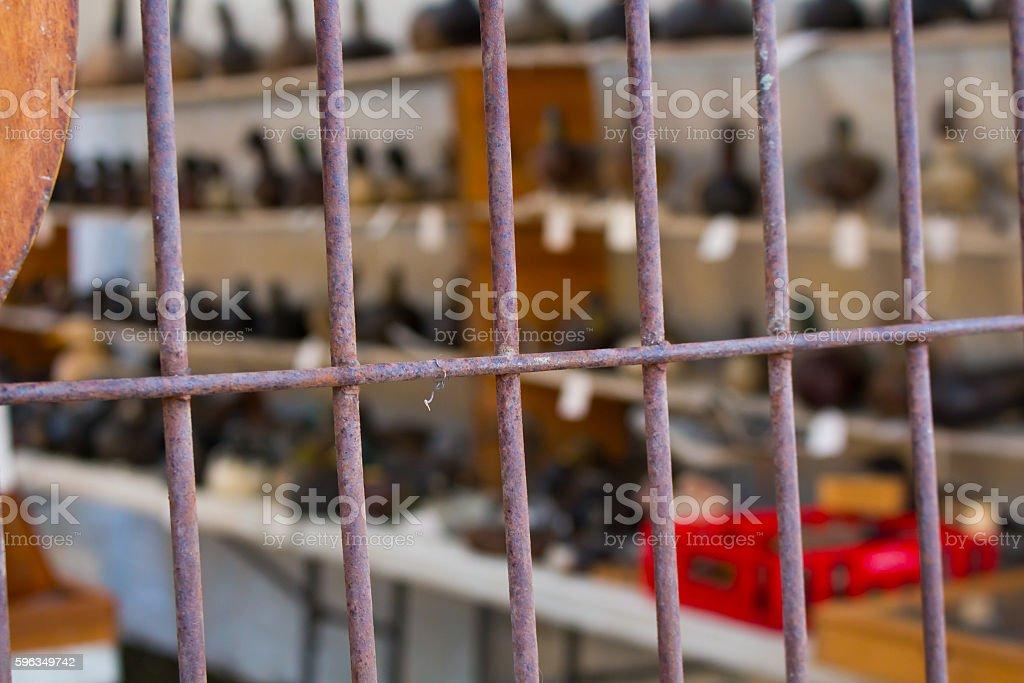 Métaux Clôture photo libre de droits
