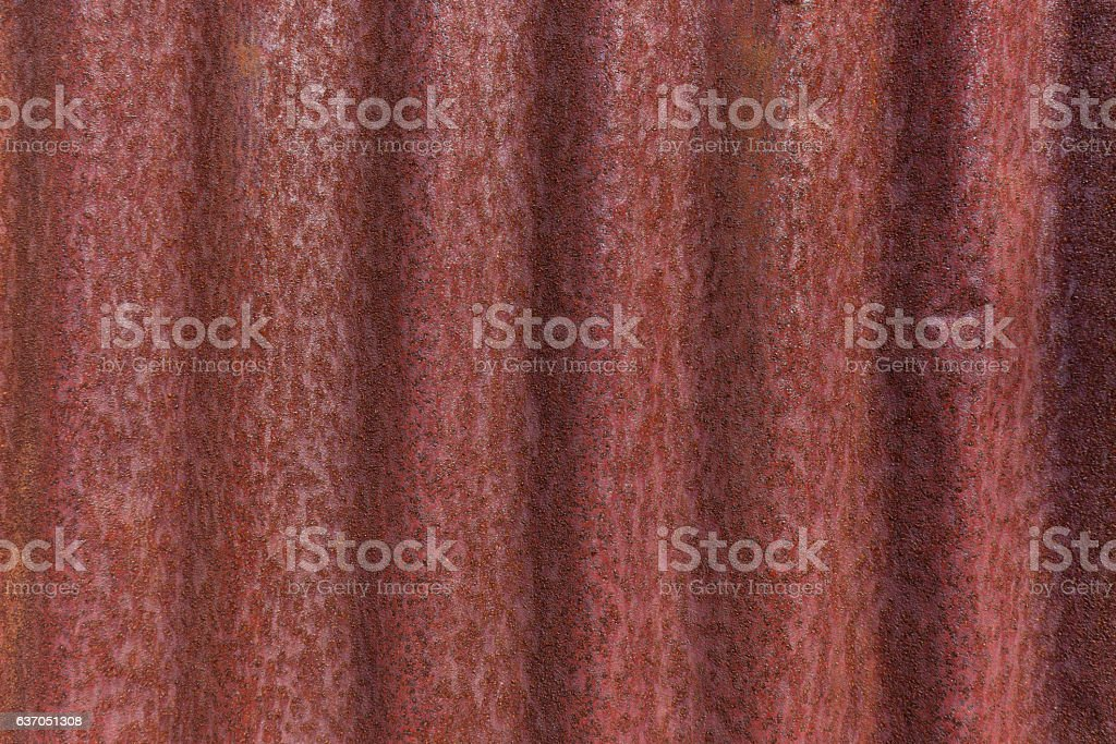 Rusted galvanized iron plate stock photo