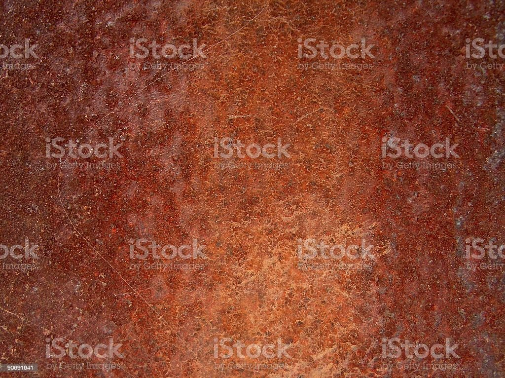 Rusted iron royalty-free stock photo
