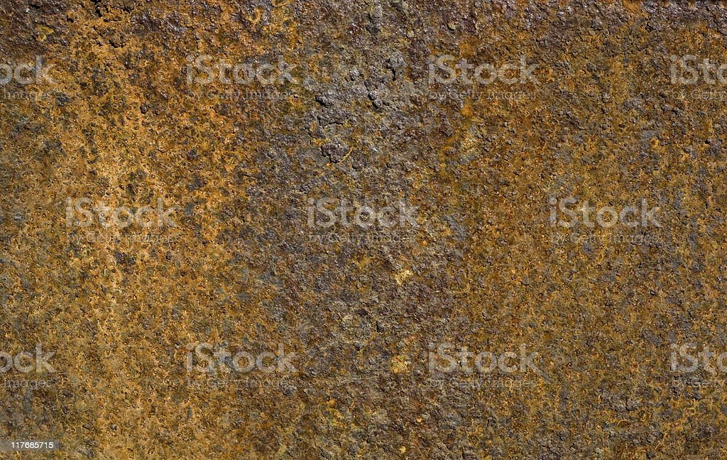Rusted iron surface royalty-free stock photo
