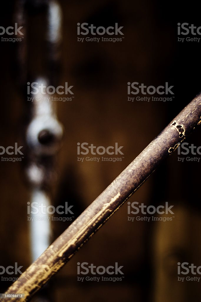 Rusted Metal Absract royalty-free stock photo