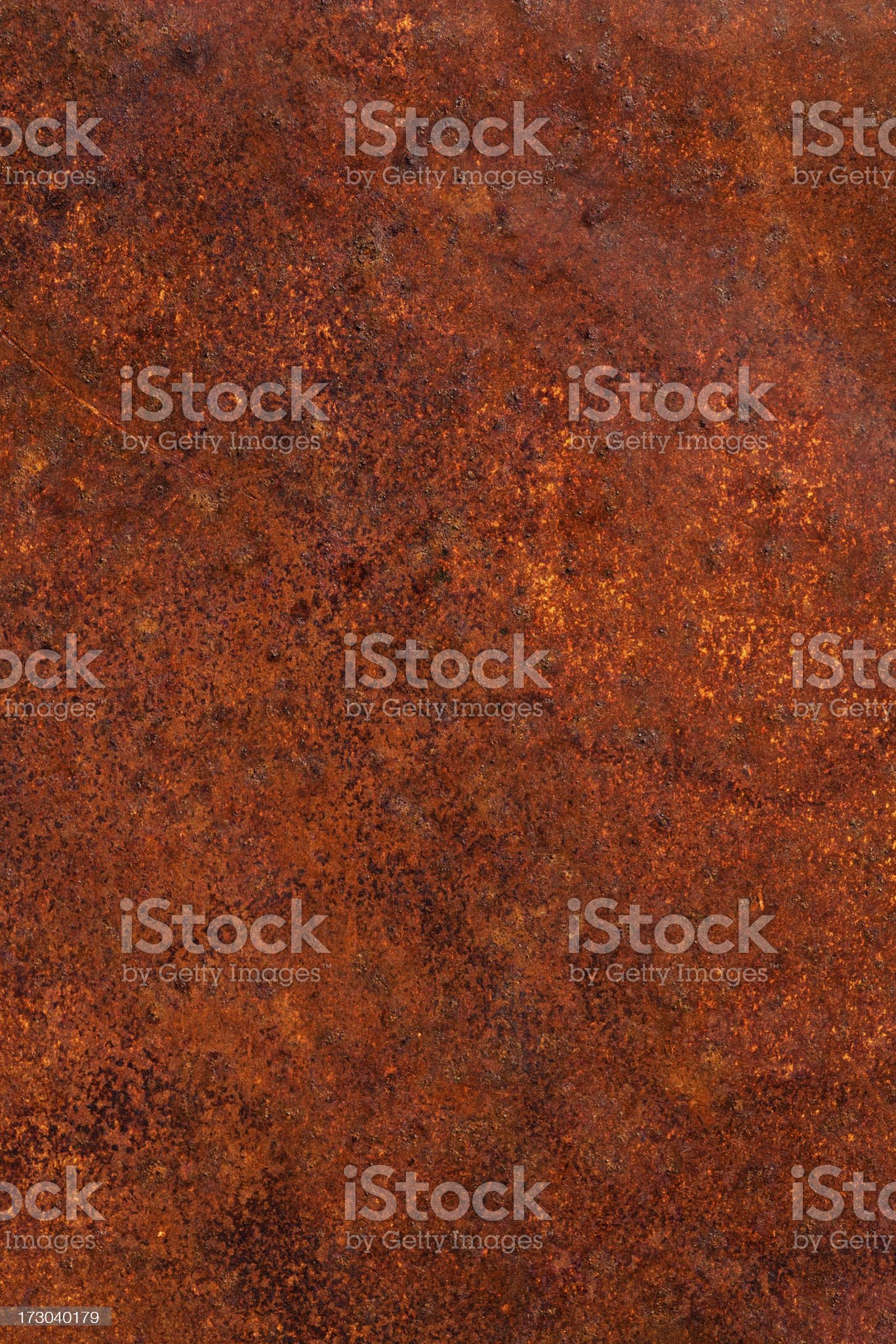 Rusted Metal royalty-free stock photo