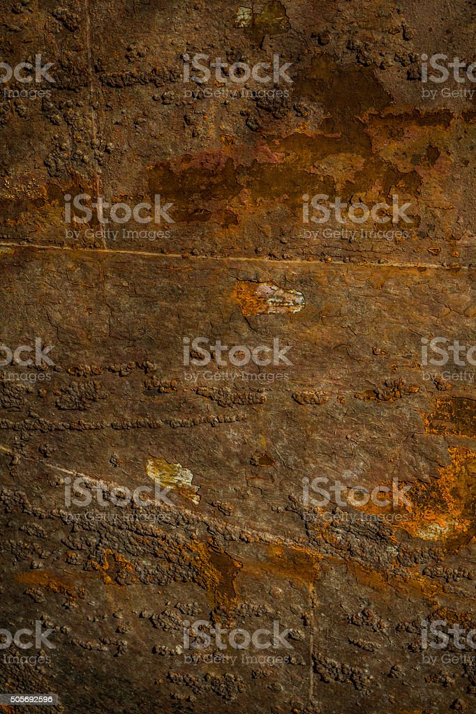 Rusted metal stock photo