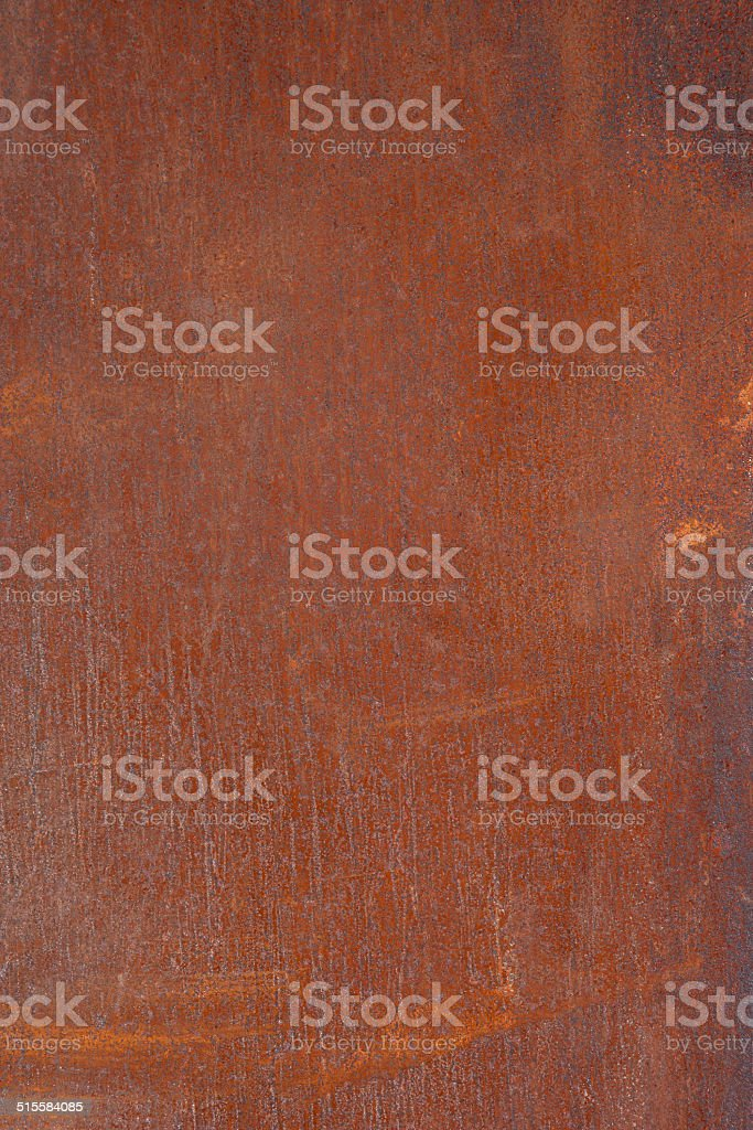 Rusted metal plate royalty-free stock photo