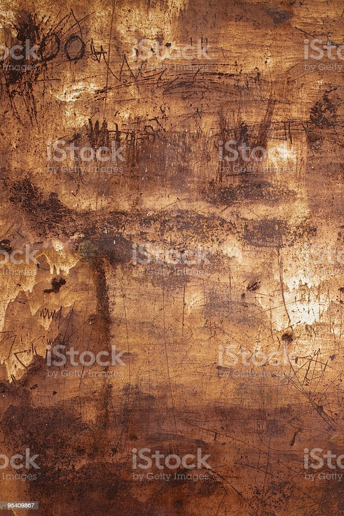Rusted Metal Surface stock photo