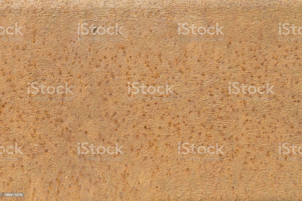 Rusted metal surface very old and used royalty-free stock photo