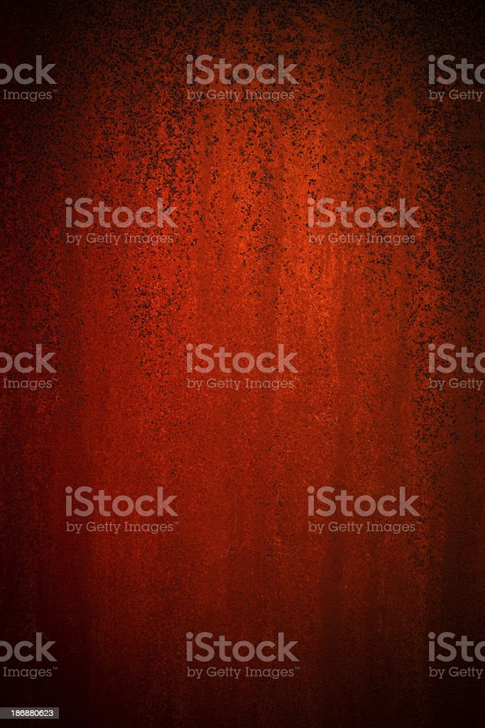 Rusted Metal Texture royalty-free stock photo