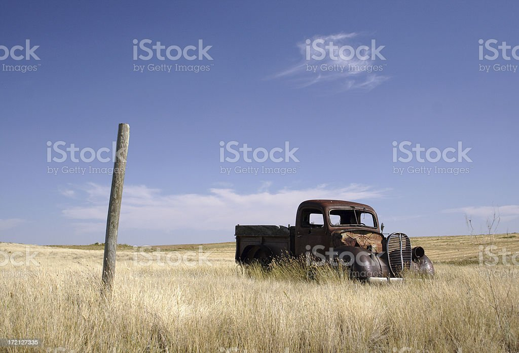 Rusted Old Truck royalty-free stock photo