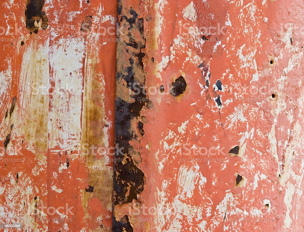 Rusted Peeling Pink Wall, Distressed, Grunge, Background, Colorful royalty-free stock photo