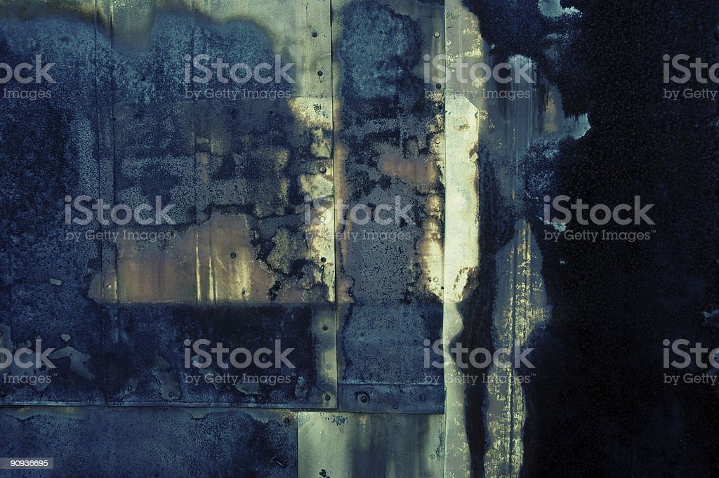 Rusted Plates royalty-free stock photo