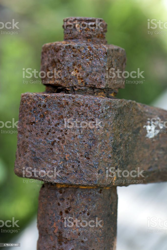 Rusted Shank royalty-free stock photo