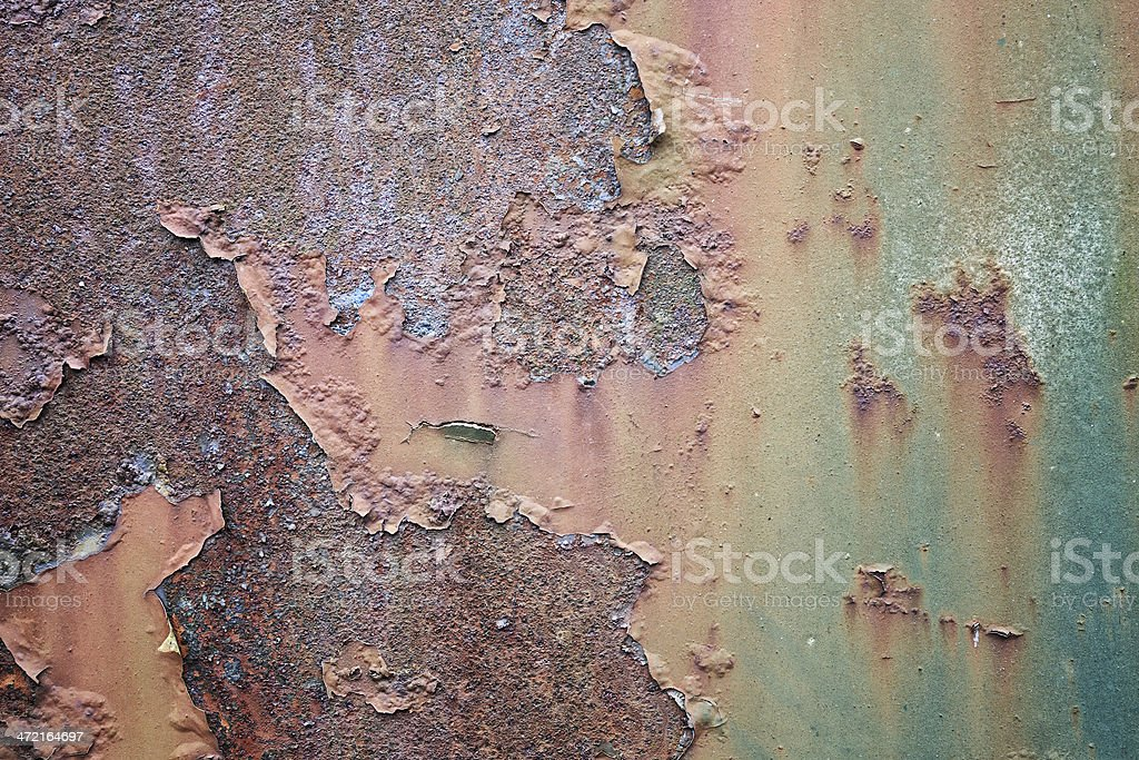 Rusted sheet of metal background stock photo