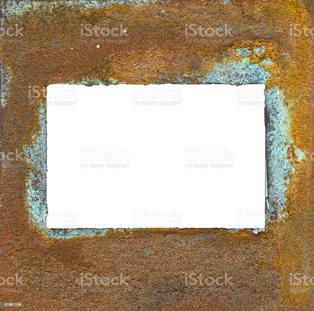 rusted slide royalty-free stock photo