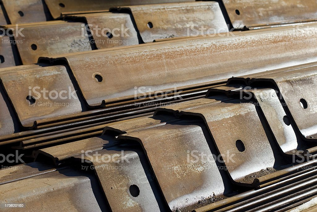 Rusted Steel royalty-free stock photo