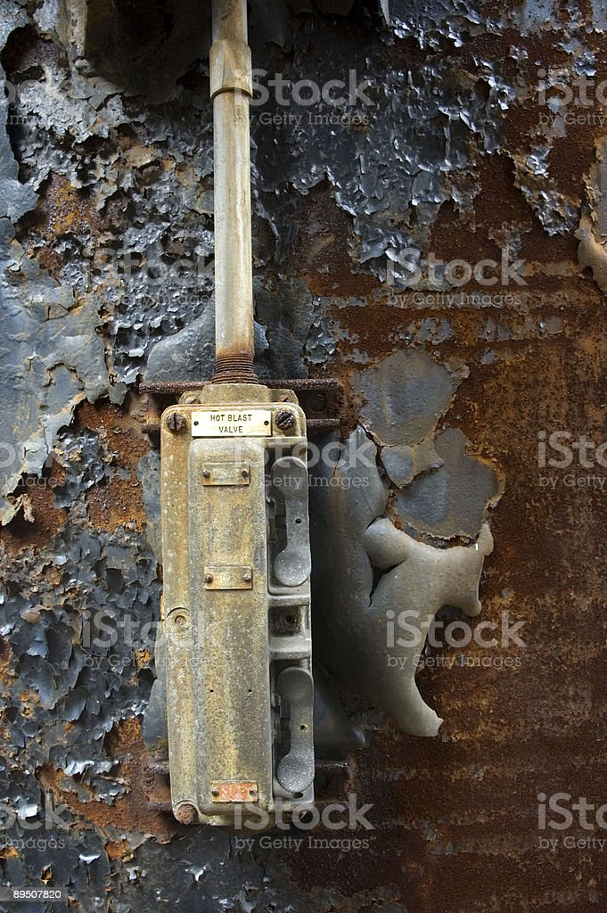 Rusted Switch royalty-free stock photo