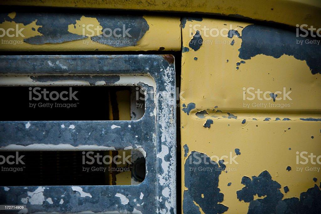 Rusted Vehicle Grille royalty-free stock photo