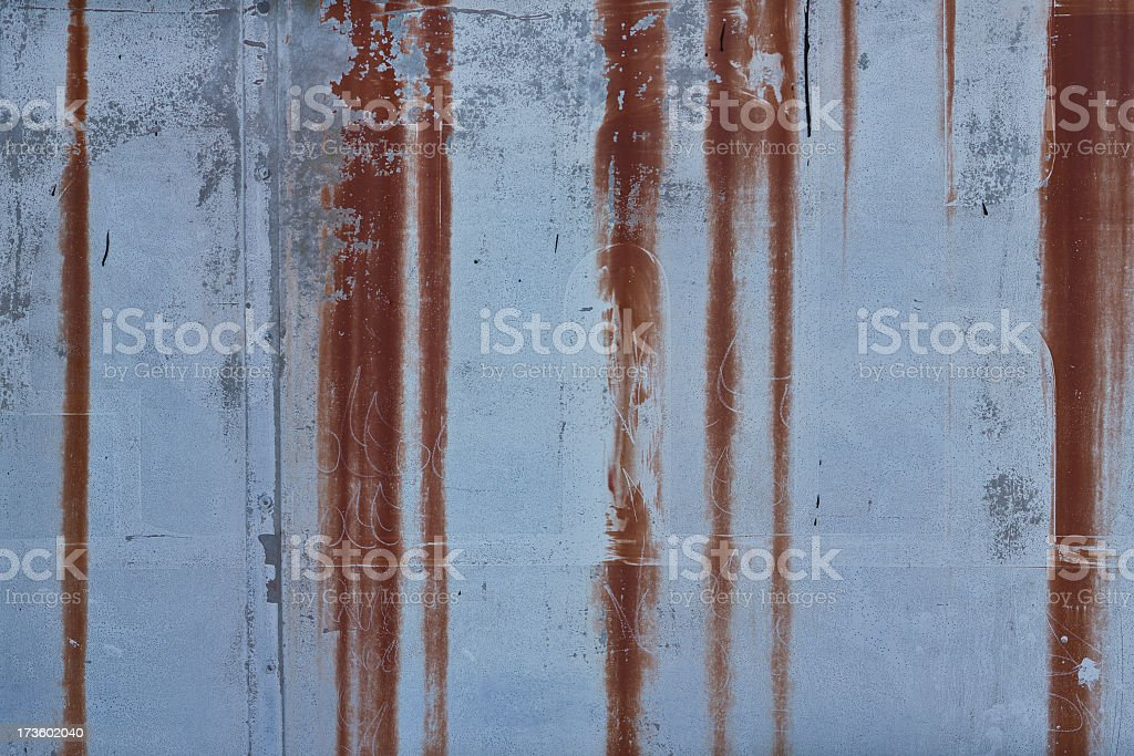 rusted wall royalty-free stock photo