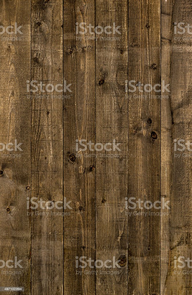 Rustic background with old wooden boards stock photo