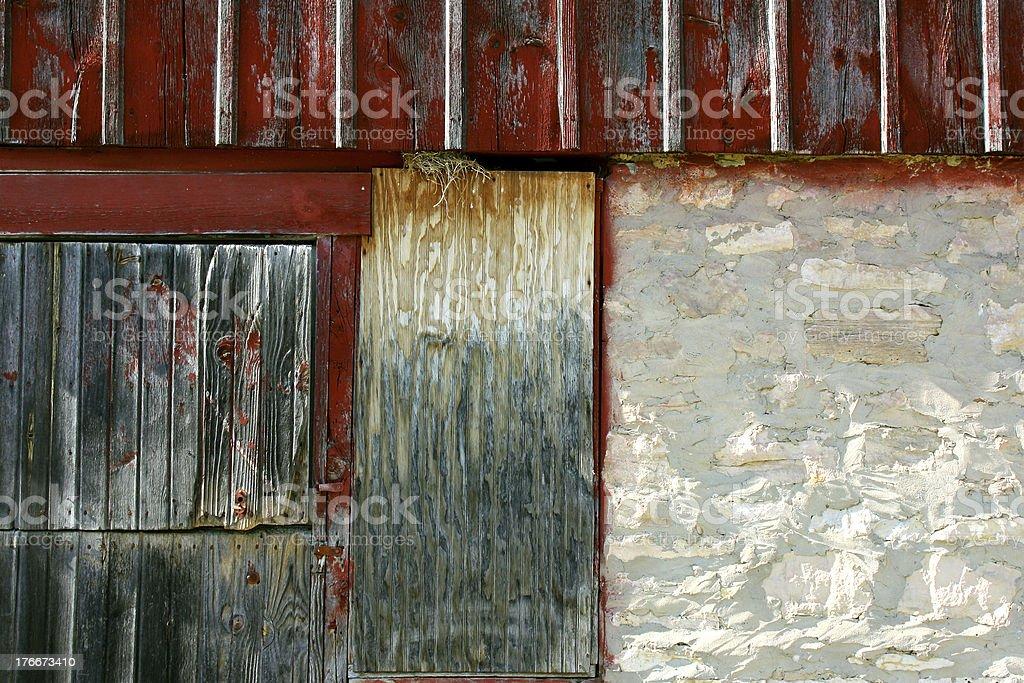 Rustic Barn Texture stock photo