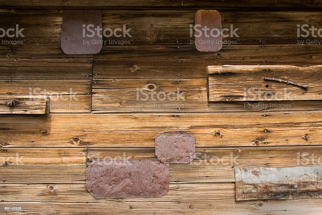 Rustic barn wall royalty-free stock photo