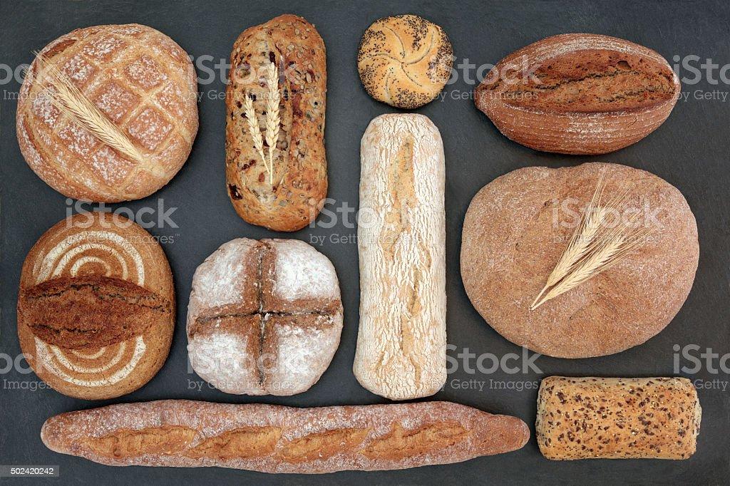 Rustic Bread stock photo
