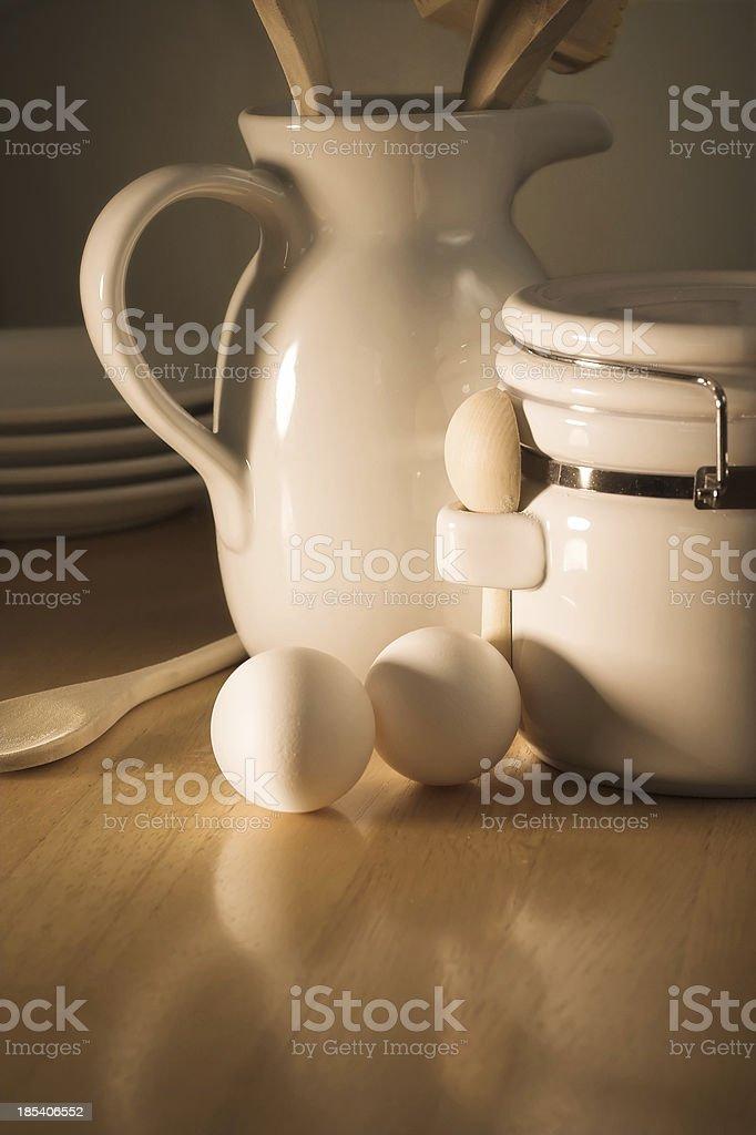 Rustic Breakfast royalty-free stock photo