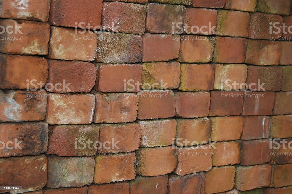 Rustic Brick Layer royalty-free stock photo