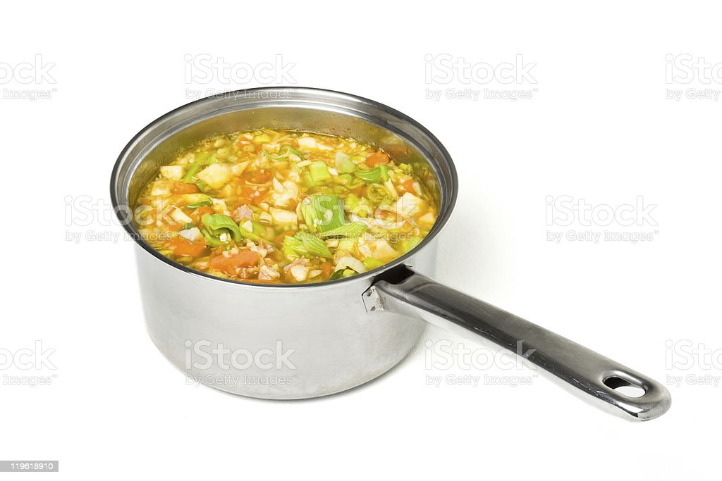 Rustic Broth royalty-free stock photo