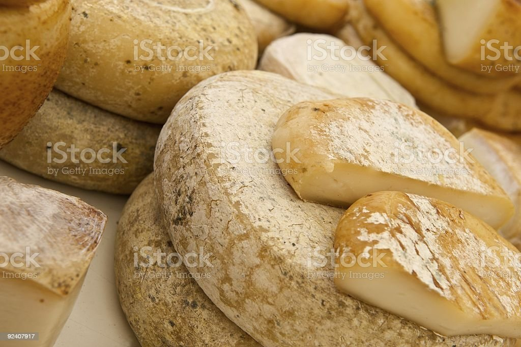 Rustic chees stock photo