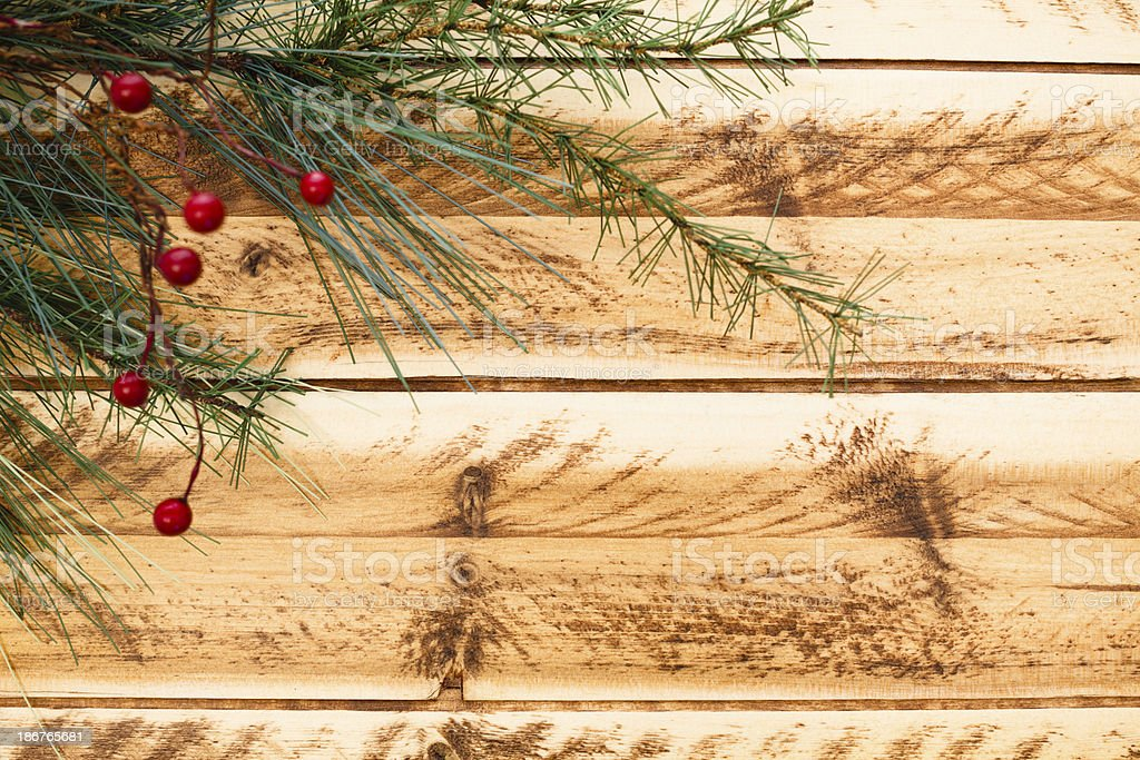 Rustic Christmas royalty-free stock photo
