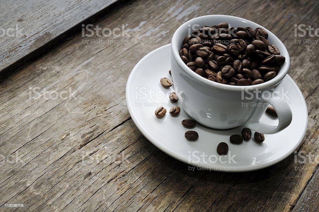 rustic coffee royalty-free stock photo