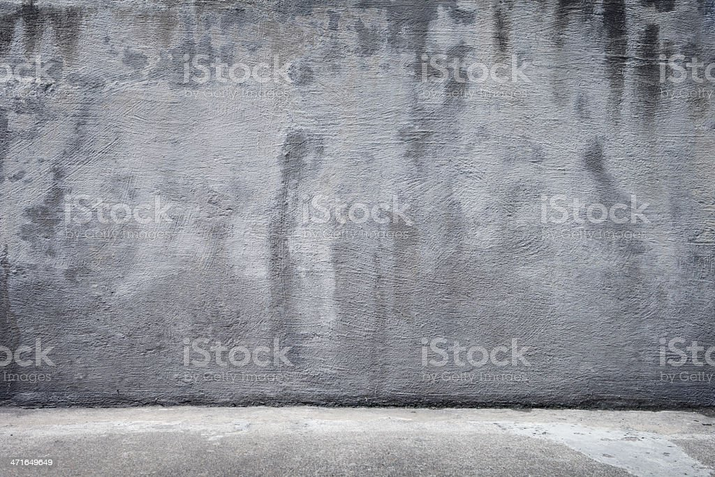 Rustic Concrete Background including the Floor/Ground royalty-free stock photo