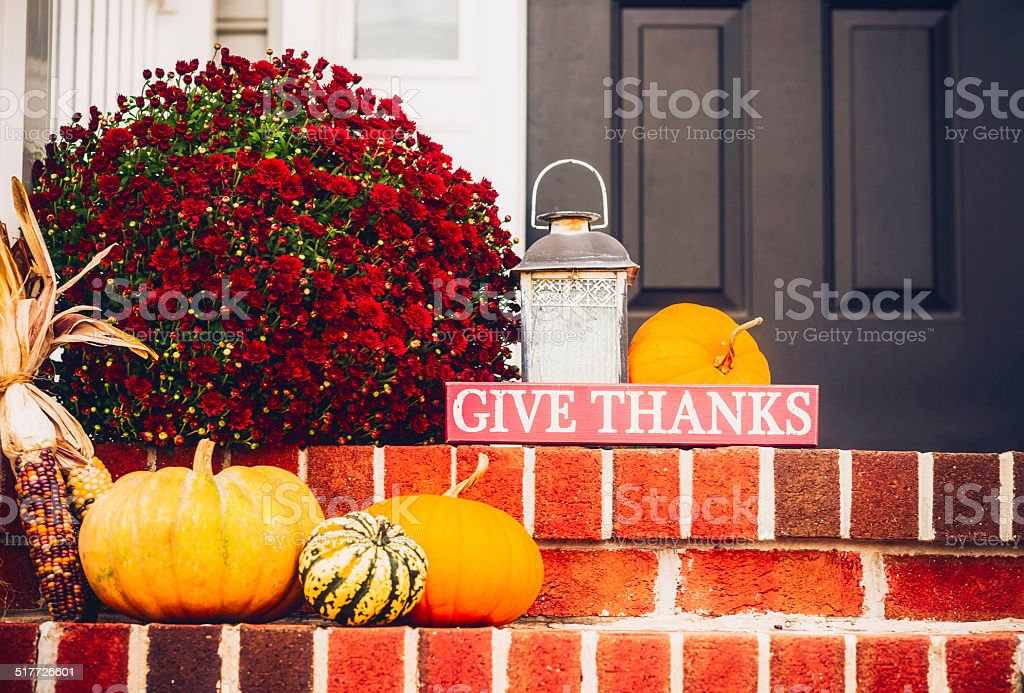 Rustic Decorations for Fall stock photo