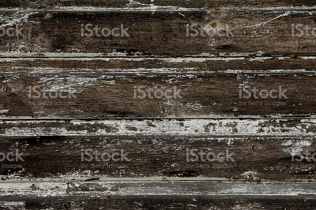Rustic Distressed Knotted Background Boards Detail royalty-free stock photo