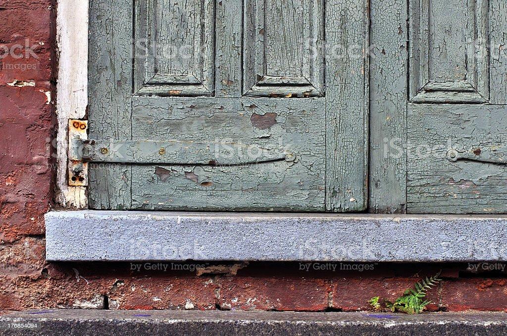 Rustic door royalty-free stock photo