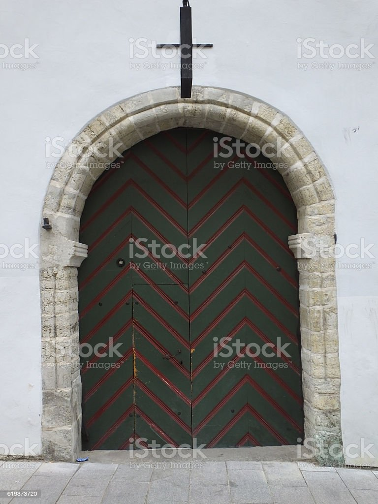 Rustic Doorway 001 stock photo