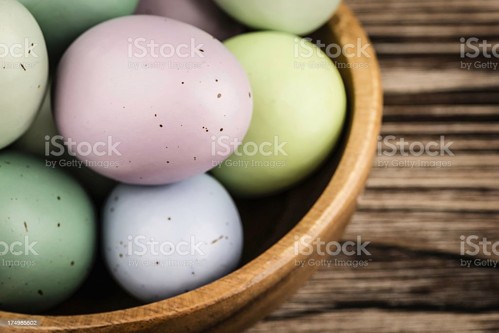 Rustic Easter stock photo