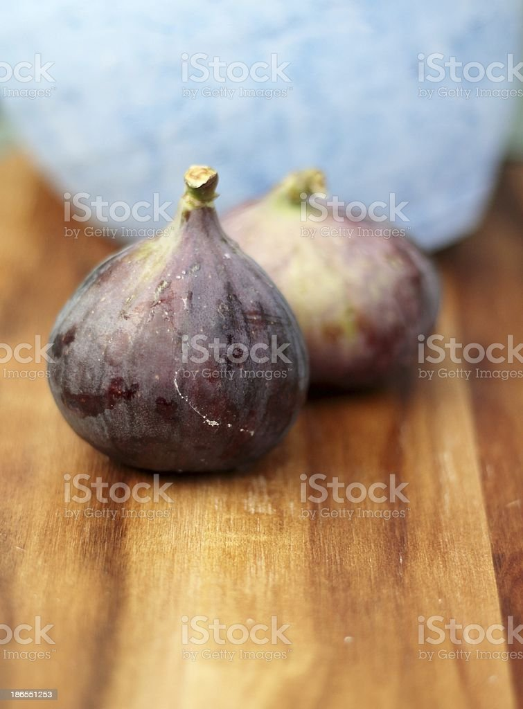 Rustic figs royalty-free stock photo
