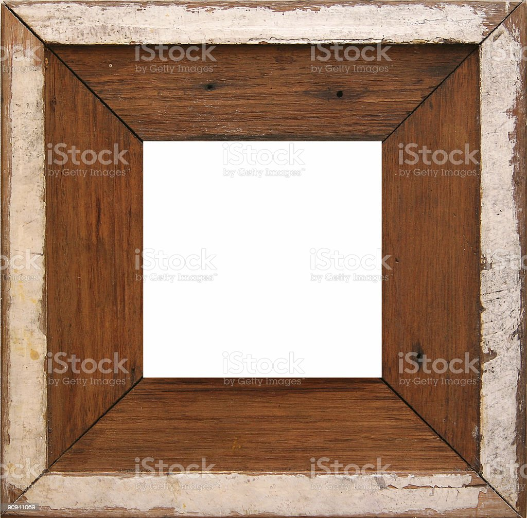 rustic frame royalty-free stock photo