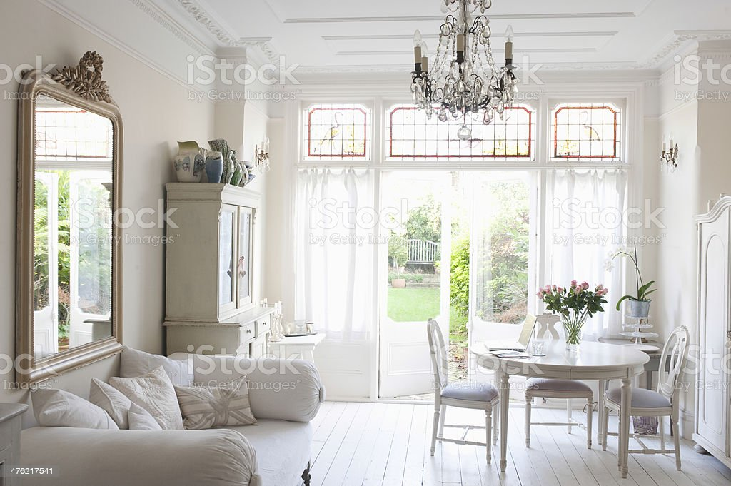 Rustic Home stock photo