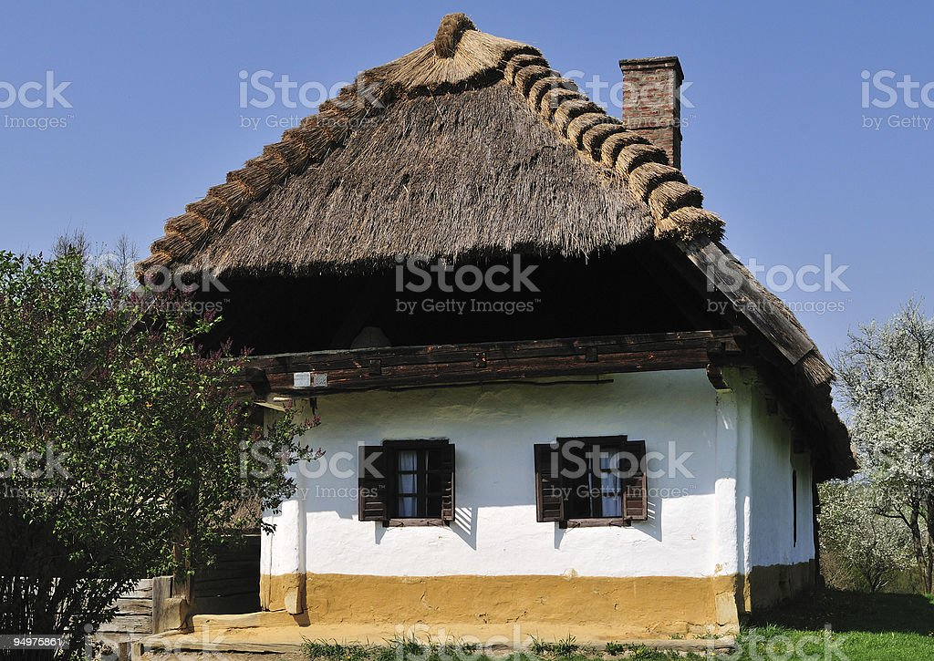 Rustic House stock photo