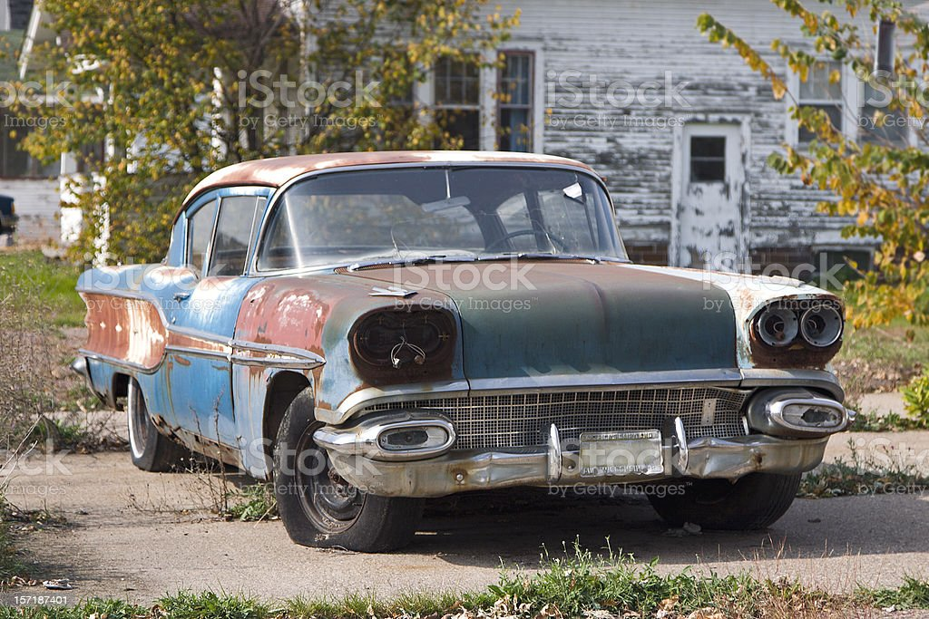 Rustic Junk royalty-free stock photo