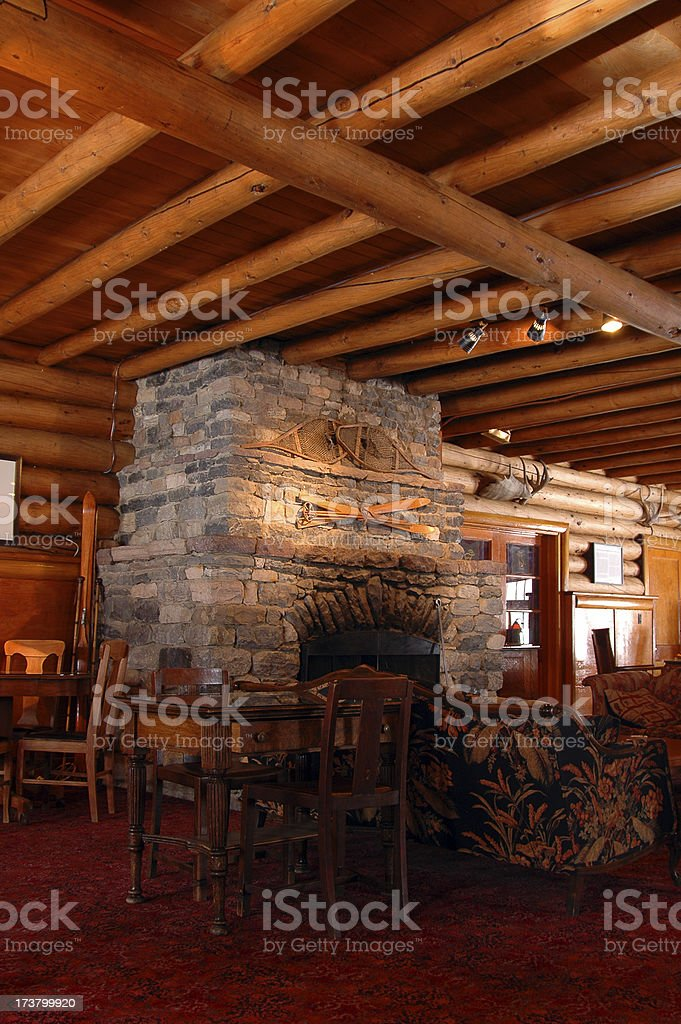 Rustic Lodge royalty-free stock photo