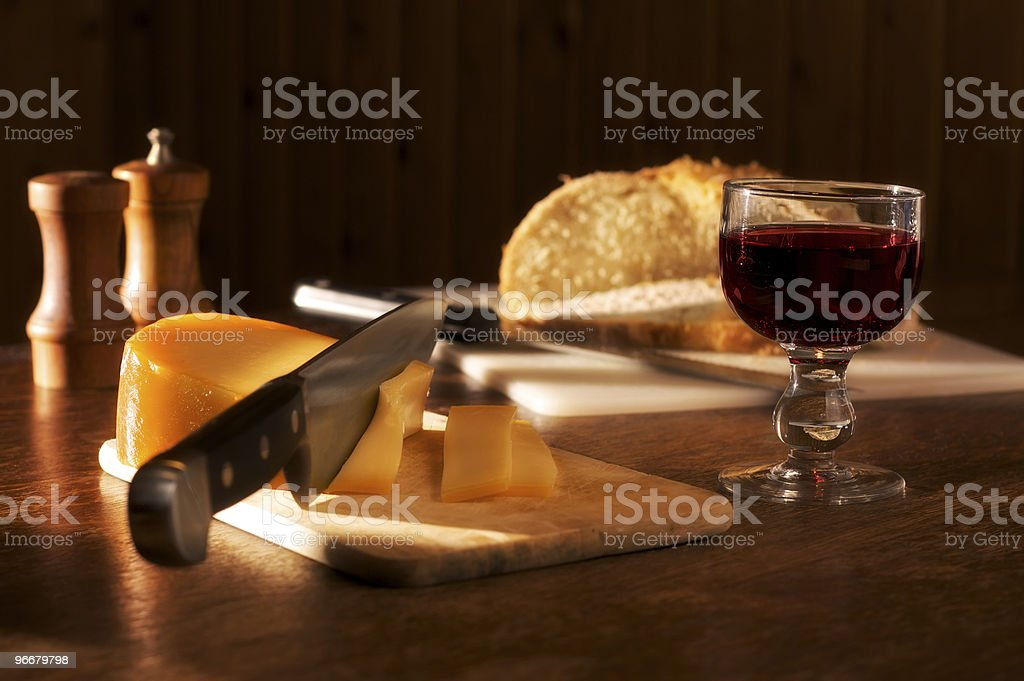Rustic meal royalty-free stock photo